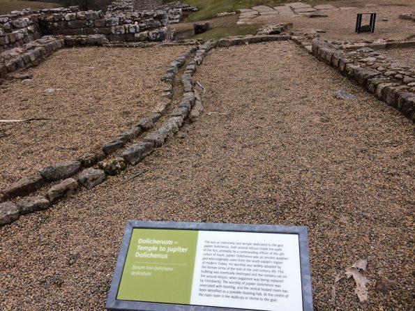 Vindolanda Roman Temple