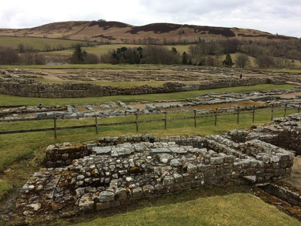 Vindolanda and its scenery