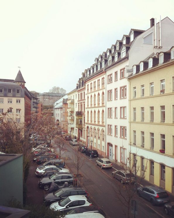A view of Mainz from Ibis Hotel City Centre