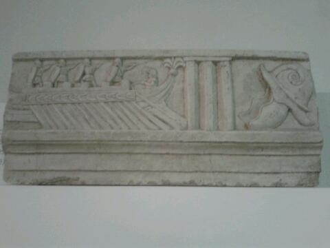 Beautiful inscription of Roman Ship