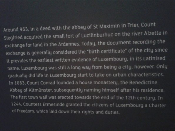 History of Luxembourg