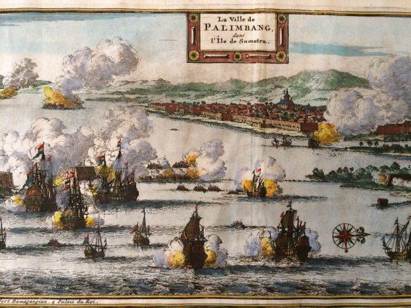 Pieter van der Aa La Ville de Palimbang
