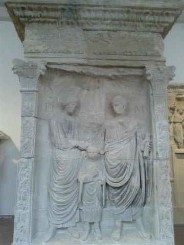 Roman Tomb at the Trier Archaeological Museum
