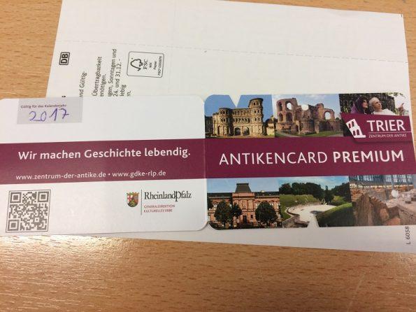 Trier Antikencard Premium