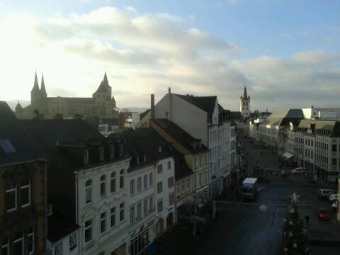 Trier City View from Porta Nigra
