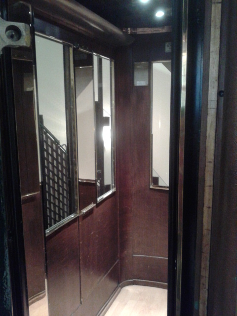 Victorian Lift at Grand Hotel Cravat