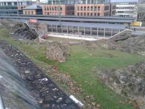 römisches buhnentheater in Mainz