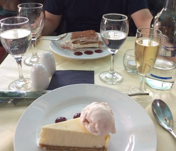 Dessert Salieri Restaurant London