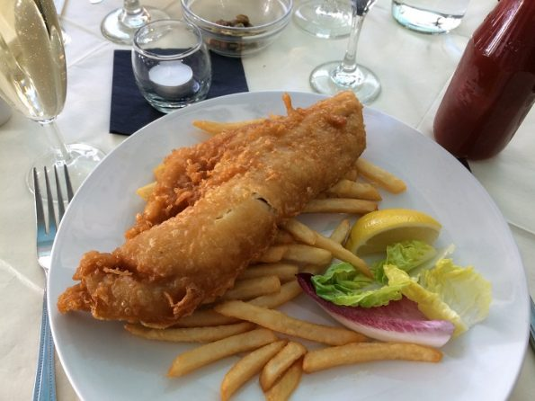 Fish and Chips Salieri