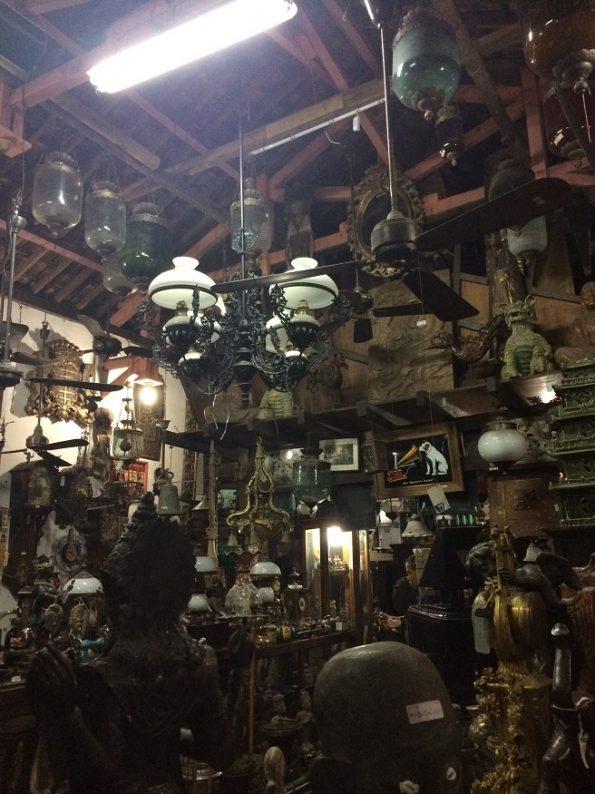 Antique shop in Yogyakarta