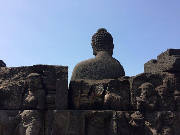 Budha stone in Borobudur