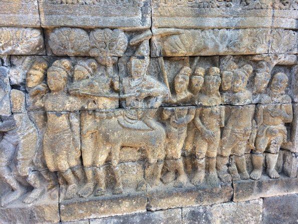 Candi Borobudur Relief