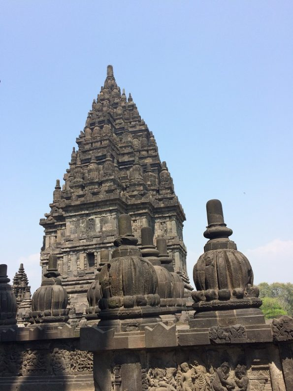 Candi Prambanan is a Hindu Temple