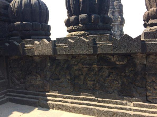 Candi Prambanan relief