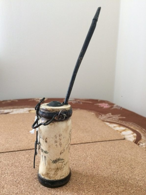 Chinese water pipe and stick