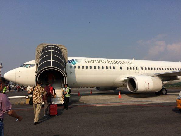 Garuda from Jogja to Jakarta