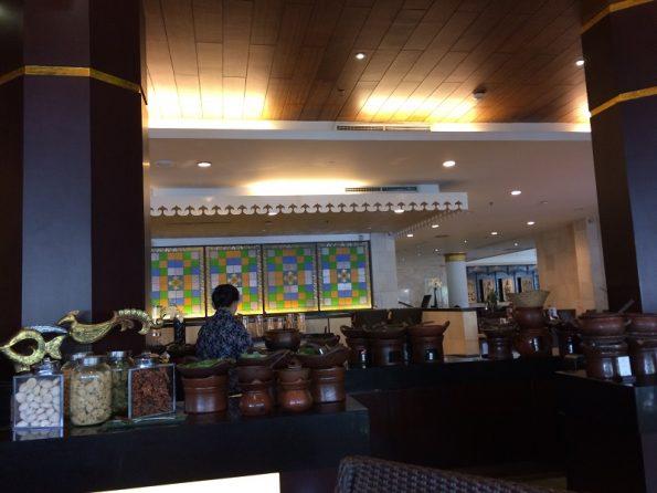 Pandansari Santika hotel breakfast