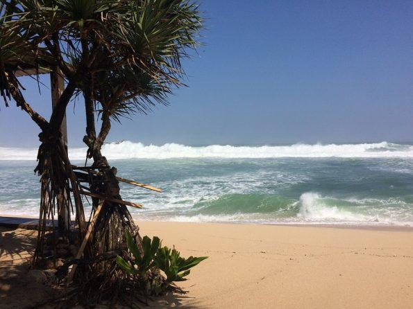 Southern Java beach