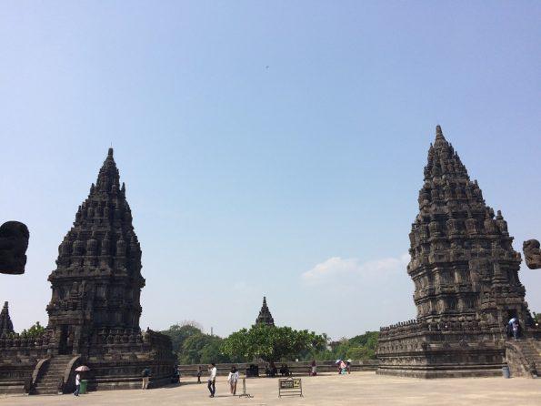 Two Candi in Candi Prambanan