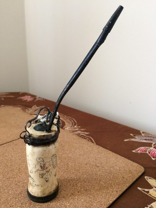 Water pipe with its stick