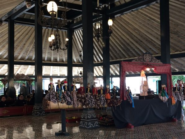 Wayang Golek Performance at Keraton