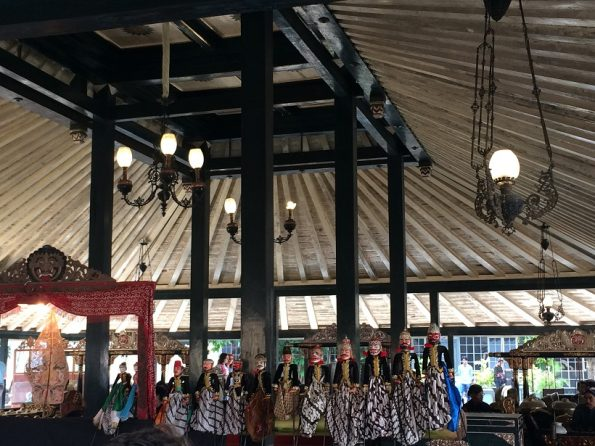 Wayang Golek in Keraton Nyayogyakarta