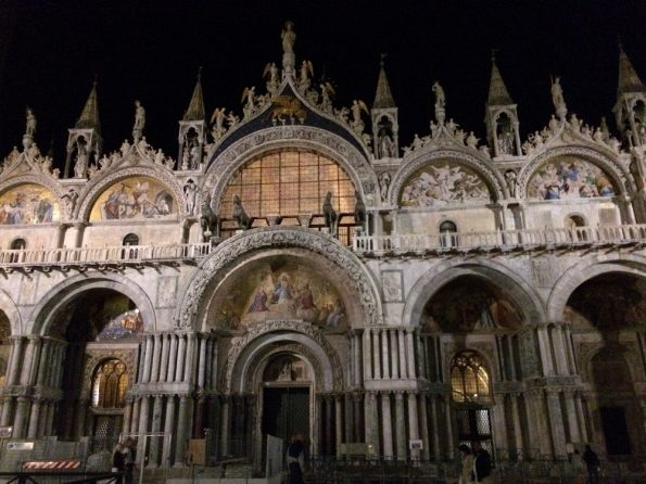 Basilica di San Marco at Night