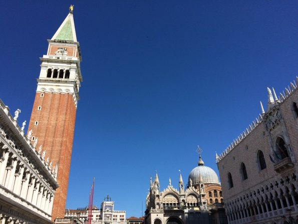 Blue Sky and Piazza San Marco