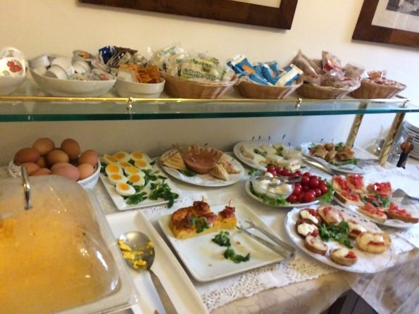 Breakfast Selection at Hotel Serenissima