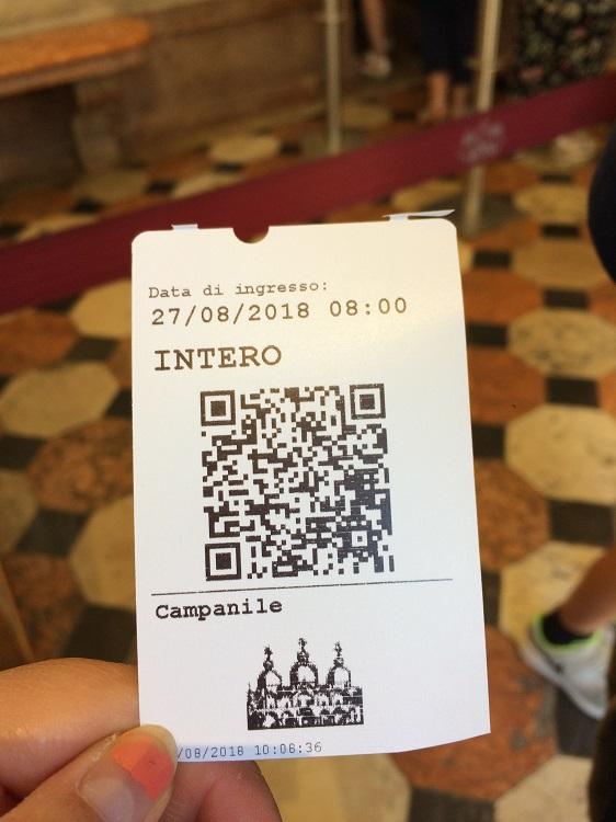 Campanile ticket
