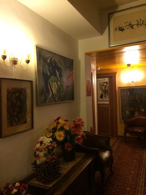 Decoration of Hotel Serenissima