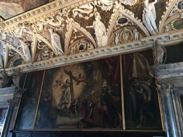 Grand painting at the Duke Palace