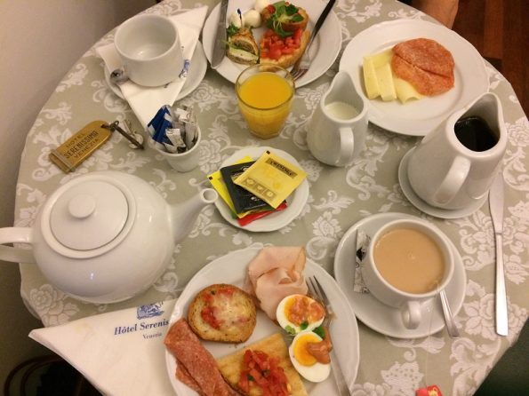 Hotel Serenissima Breakfast