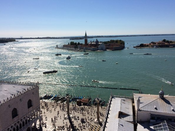 How Beautiful is the View from Venice from the Bell Tower