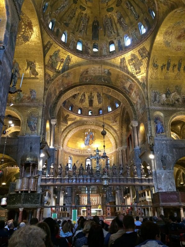 Inside Basilica di San Marco