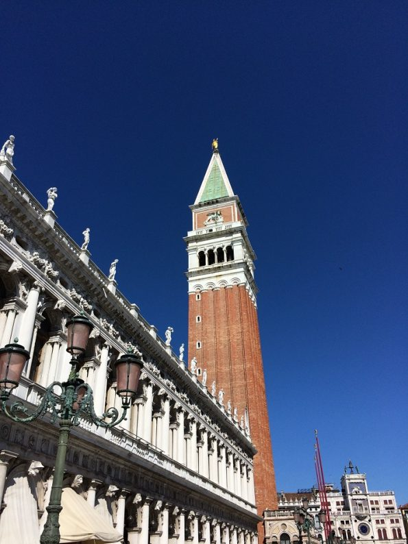 Piazza San Marco and the arcade shops