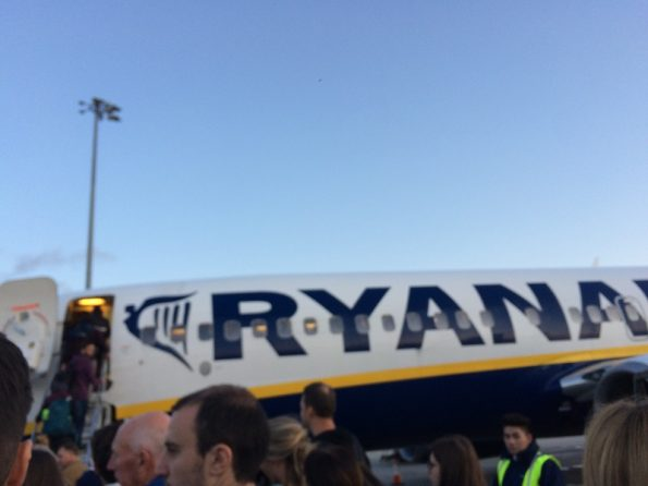 Ryanair from Stansted to Treviso