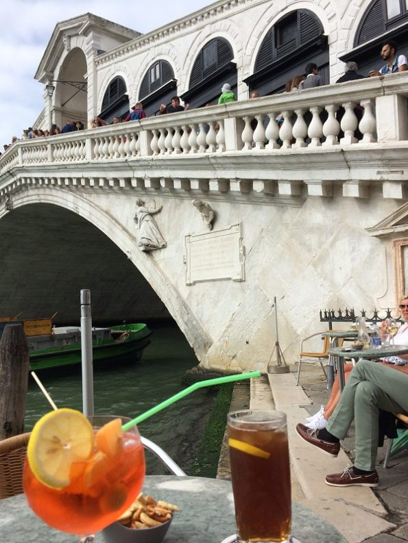 Spritz with a Rialto Bridge View
