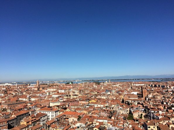 View from the Campanile venezia