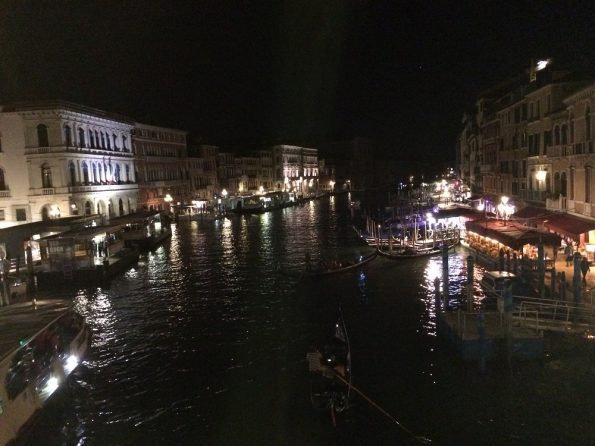 View of Grand Canal at Night