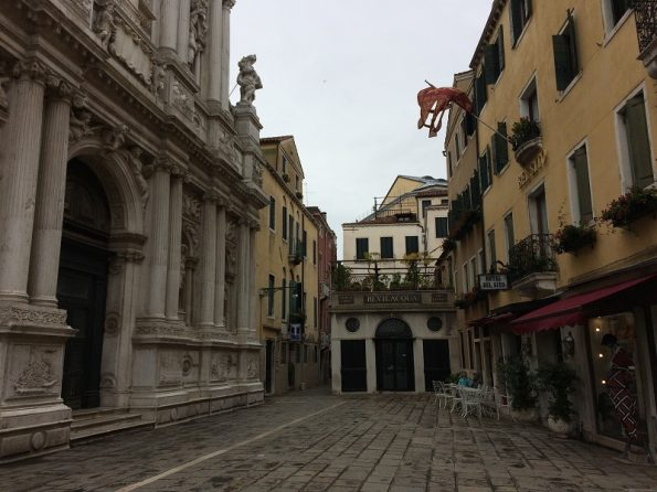 Wandering around Venice