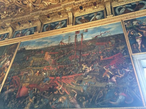 venetian ships winning the war