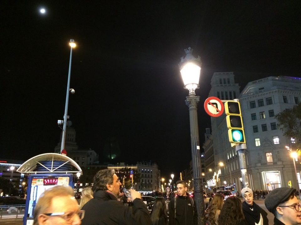 Barcelona near Placa de Catalunya