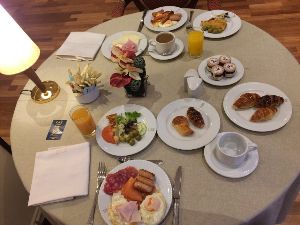 Breakfast at Hotel Roger de Llúria