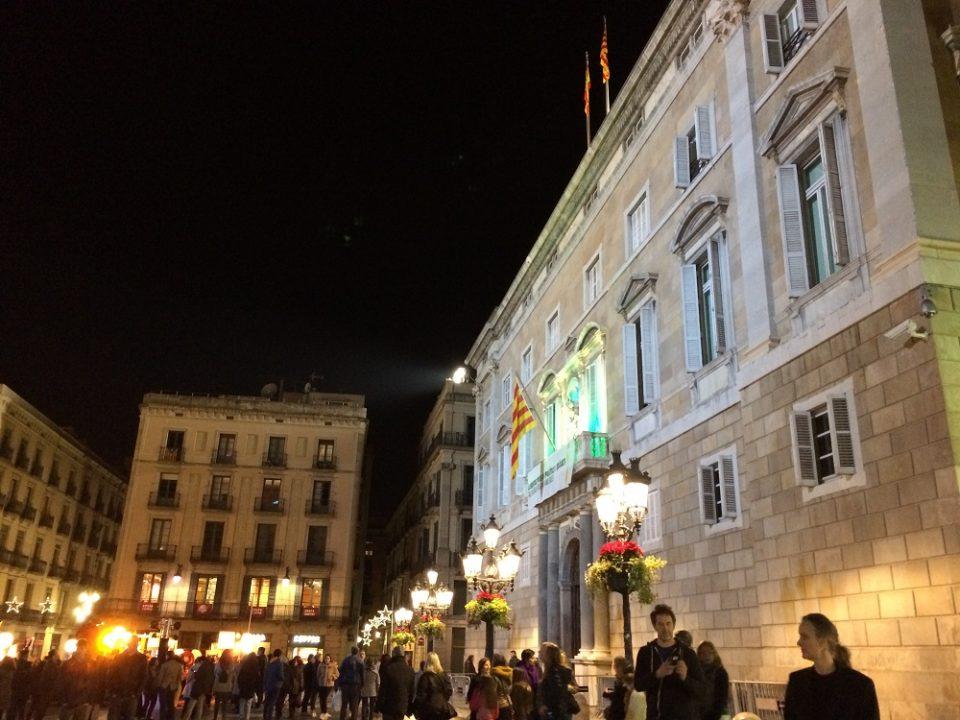 Placa Sant Jaume Barcelona
