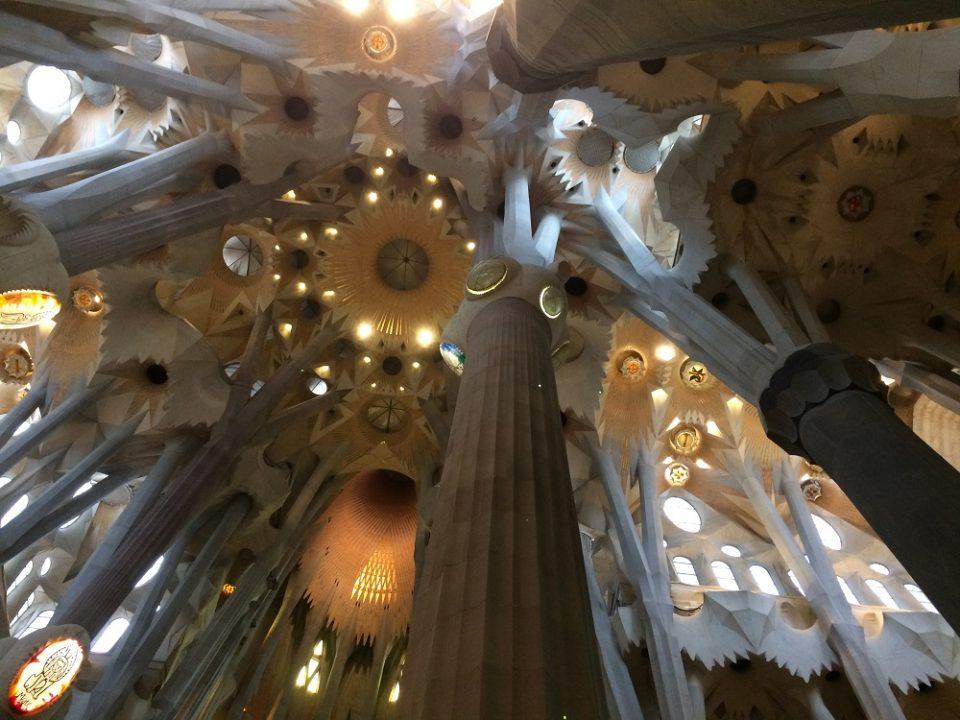 Sagrada Família pilars