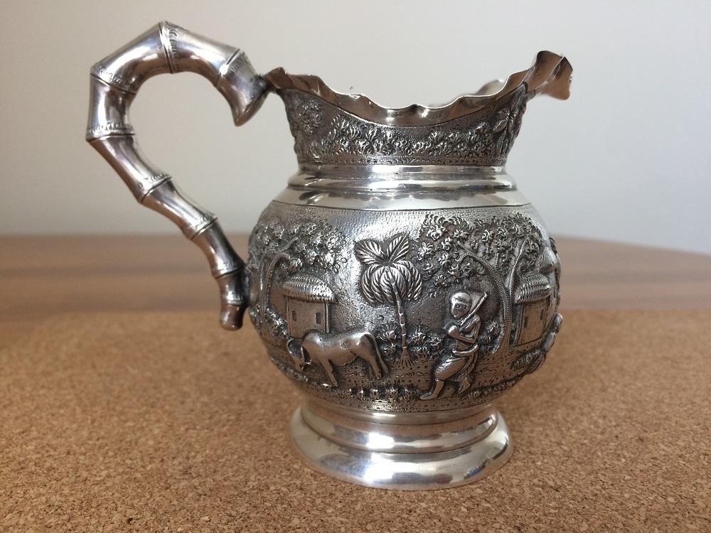 India Calcutta Silver